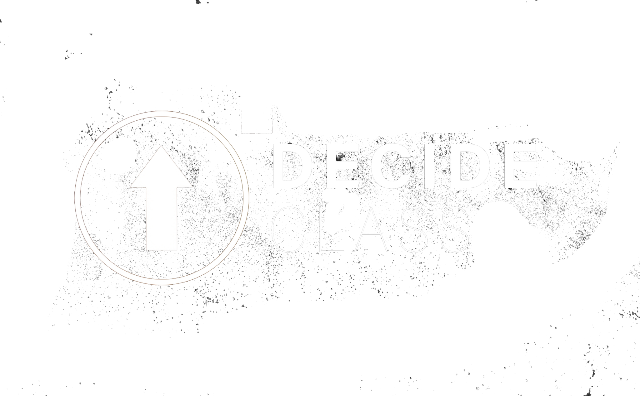 decide without